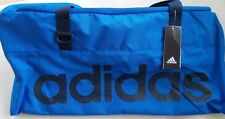 Adidas Holdall & Drawstring Shoe Bag Blue & Navy Gym,Training,Weekend Holiday