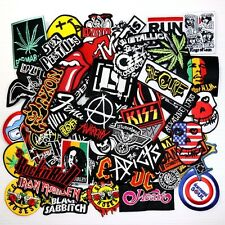 WHOLESALE Lot 50 Heavy Trash Punk Rock Band Music T-Shirt Backpack Iron patch #6