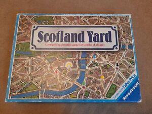 Vintage Ravensburger Scotland Yard Detective Board Game 1983