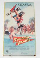 FRATERNITY VACATION VHS NEW WORLD VIDEO 1985 COMEDY SLEAZE RARE OOP