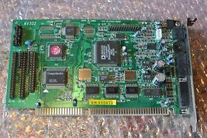 ISA Soundkarte 16-bit Analog Devices Soundport/Galaxy AD1848KP, AV302, CD, Wave