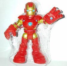 """PlaySkool Heroes IRON MAN Mark III 2.5"""" Figure Marvel Adventure Hall of Armor"""
