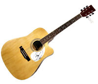 Donny Osmond Donny and Marie Autographed Signed Acoustic Guitar AFTAL UACC RD