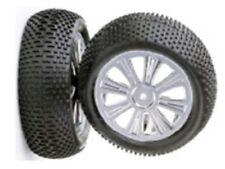 211000212 Ansmann Racing Tyre Front 1/10 4WD 8 Spokes RC Wheels 12mm Hex (2pcs)