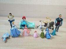 Disney Princess & Prince Small Plastic Figures Figurine Cake Toppers Frozen
