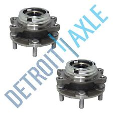 Front Left & Right Wheel Hub & Bearing Assembly Pair AWD w/ ABS for Infiniti