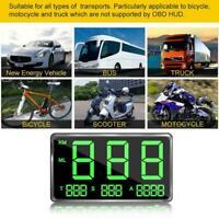 Auto Motor GPS Tacho Head Up Display Die Fahrgeschwindigkeit C80 Mit USB Sc E7G1