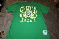 Boston Celtics Adidas Trefoil Retro Throwback T Shirt NBA Basketball Mens XL