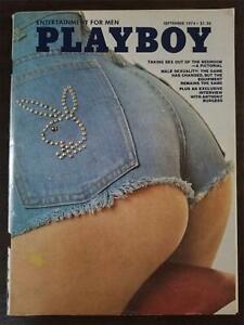 Playboy magazine September 1974 Kristine Hanson Anthony Burgess VERY GOOD
