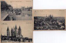 Lot Of 3 Antique Original Postcards - Tournai, Belgium