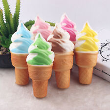 Jumbo Ice Cream Cones Squishy Slow Rising Stress Relieve Soft Scented Kid Toys