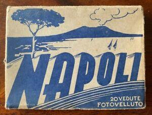 Vintage Souvenir 20 Fold Out Photocards - Napoli/Naples - Italian - Circa 1942