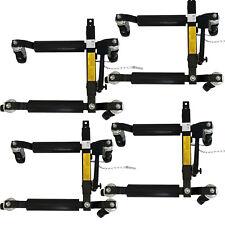 4 Stück PKW Rangierhilfe Wagenheber Rangierheber PKW Auto Rangierroller