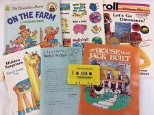 VTG Troll Associates Read Along Book Cassette House That Jack Built & Berenstain