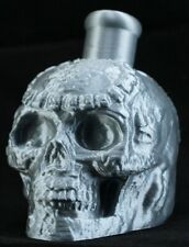 Mayan / Aztec Death Whistle Silver Skull * Made In Usa *