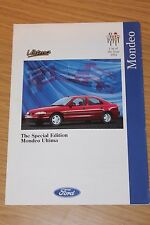 Ford Mondeo Special Edition Ultima Sales Folder Dated 1994 FA1173