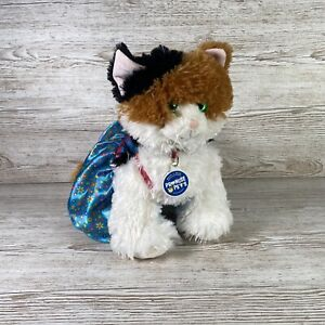"""Build-A-Bear Promise Pet Calico 13"""" Kitty Cat Green Eyes - Soft & Cuddly - Meows"""