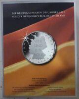 Münzfolder 10 € Gedenkmünzen Set 2010 BRD Ausgabe MDM für 6 x 10 Euro - Münzen