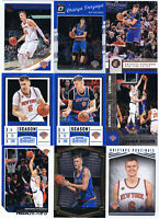 9 KRISTAPS PORZINGIS Lot Contenders,Hoops Swat Team,Optic,Select #196 RC,Studio