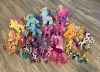 My Little Pony  Figures Miniature Ponies Mixed Lot over 60 Pieces Plush