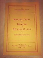 Modern Coins of Belgium & Belgian Congo Coin Collector's Journal 1953
