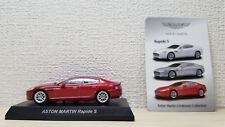 1/64 Kyosho ASTON MARTIN RAPIDE S RED diecast car model