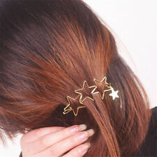 New Women Ladies Girls Popular Hollow Star Tassel Hairpin Clips Hair Accessories