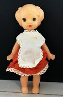 RARE VINTAGE PLASTIC DOLL USSR (Soviet, RUSSIA, Russian) 25cm 9.84inch