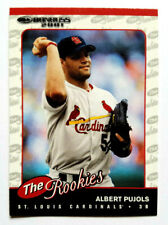 Albert Pujols 2001 Donruss The Rookies Rookie Card #R97 Cardinals/Angels Hof