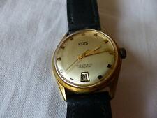 Koha Armbanduhr automatic 25 Rubis  Discu safe Lederarmband