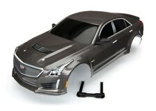 Traxxas Body Cadillac CTS-V Silver (Painted Decals Applied) 4-Tec 2.0