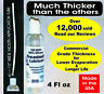 4oz COMMERCIAL 100% silicone (500 cSt) Treadmill belt lubricant Lube maintenance