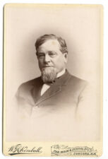 1880s Cabinet Card Hon. Jesse Gault, Hooksett by W.H. Kimball, Concord, NH