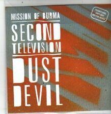(DA765) Mission Of Burma, Second Television / Dust Devil - 2012 DJ CD