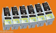 T127 127 126 NON-OEM Ink  for EPSON WORKFORCE 60, 545, 630, 633, 635, 840 6 CART