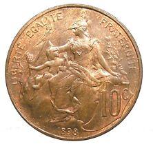 ~~ D. Dupuis: 10 Centimes 1898, SPL  ~~