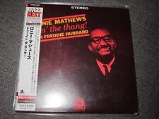 RONNIE MATHEWS doin the thang JAPAN MINI LP CD FREDDIE HUBBARD SEALED