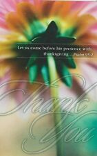 """*Postcard-""""Thank You"""" ...-Let Us Come Before His Presence... -Psalm 95:2 ( #86)"""