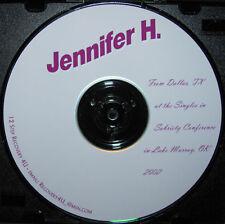 AA Alcoholics Anonymous 12 Step Speaker CD - Jennifer H