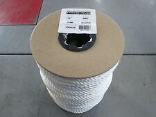 """1/4"""" Med Lay Crab Line for Trotlines  600 Ft Spool NEW 3 Strand Twisted Nylon"""