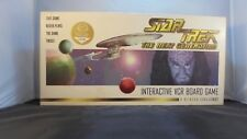 Vintage Star Trek The Next Generation Interactive Vcr Board Game Collectors Edt