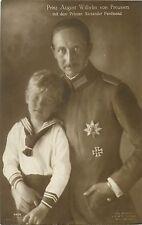 Prinz August Wilhelm von Preussen Infant Prince Alexander Ferdinand Royalty