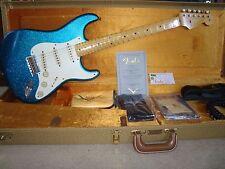 2015 Fender Custom Shop Journeyman Relic '57 Stratocaster - Blue Sparkle