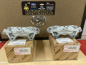 TOYOTA GENUINE OEM NEW 2005-2019 TACOMA 4WD OEM FRONT DISC BRAKE CALIPERS (2)