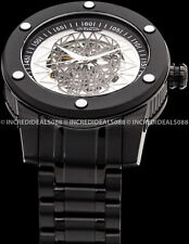 Invicta Men Speedway Skull Edition Automatic Skeletonized Dial 51mm Black Watch