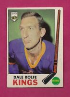1969-70 TOPPS # 100 KINGS DALE ROLFE EX CARD (INV# A5214)
