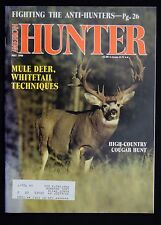 AMERICAN HUNTER MAGAZINE - MAY 1990 - Snow Lions