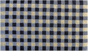 HIGH QUALITY Thick Doormat Gingham  45 X 75 X 4 CM Doormat Designs DUE MID DEC20