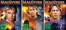16 DVDs * MACGYVER - STAFFEL / SEASON 5 - 7 IM SET ~ MB # NEU OVP +