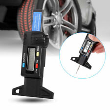 1x LCD Display Car Digital Tire Tread Depth Gauge Measurer Caliper Tool 0-25.4mm